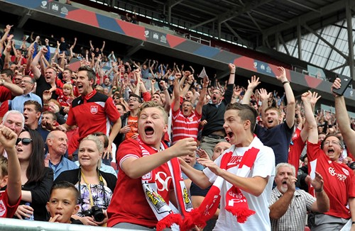 Best Bristol City Average Attendances For A Generation