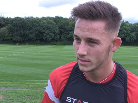 Video: Josh Brownhill - First Day Back