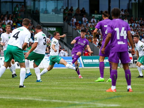 Highlights: Guernsey FC 0-1 Bristol City