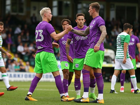 Highlights: Yeovil Town 1-3 Bristol City