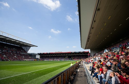 Liverpool cup fixture at Ashton Gate
