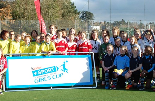 Trust fare well at Kinder+ SPORT Girls Cup