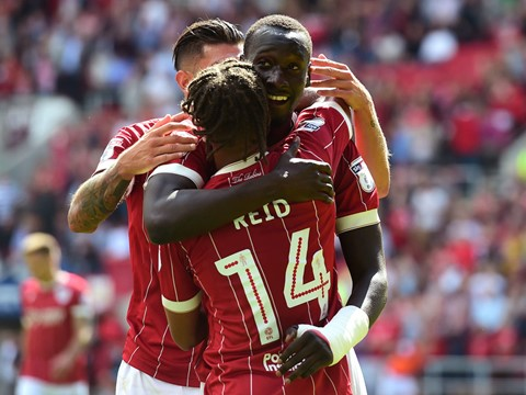 Goals: Bristol City 3-1 Barnsley