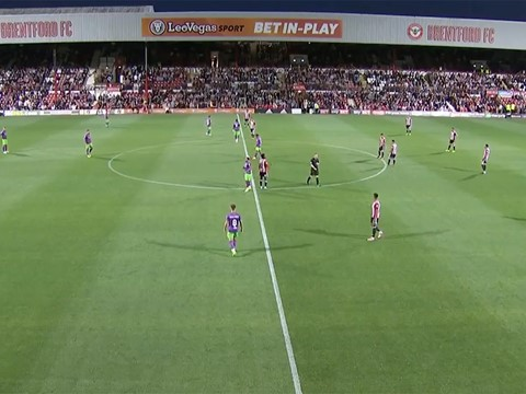 Second Half: Brentford 2-2 Bristol City