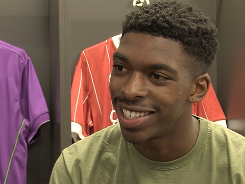 Video: Tyreeq Bakinson - The First Interview
