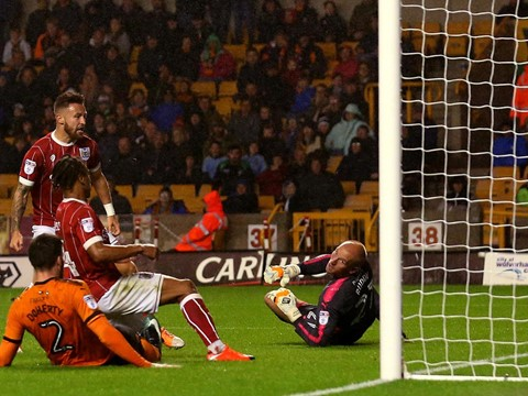 Goals: Wolves 3-3 Bristol City