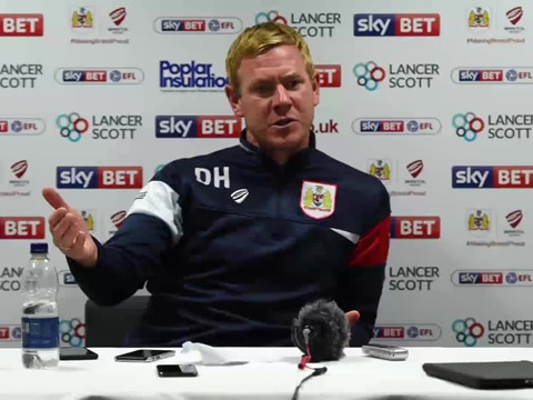Audio: Dean Holden Post-Stoke City press conference