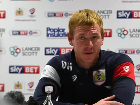 Audio: Dean Holden Post-Bolton Wanderers home press conference