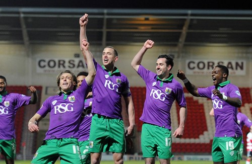 Report: Doncaster Rovers 1-3 Bristol City