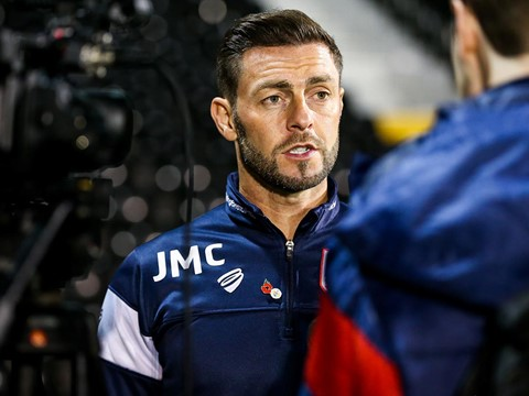 Audio: Jamie McAllister Post Fulham away press conference