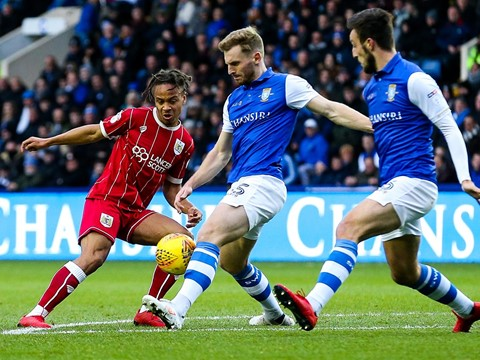 Action: Sheffield Wednesday 0-0 Bristol City
