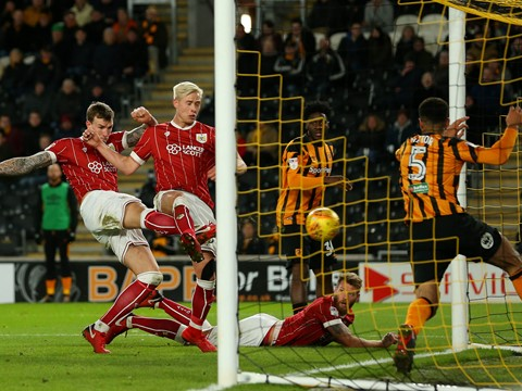 Goals: Hull City 2-3 Bristol City
