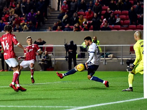 Goals: Bristol City 2-1 Middlesbrough