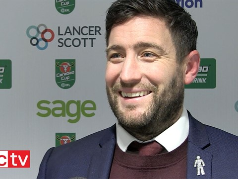 Video: Lee Johnson Post-Manchester United home