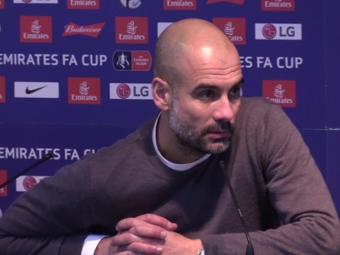 Video: Pep Guardiola Pre-Manchester City away