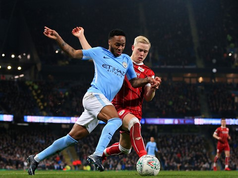 Second Half: Manchester City 2-1 Bristol City (SFL1)