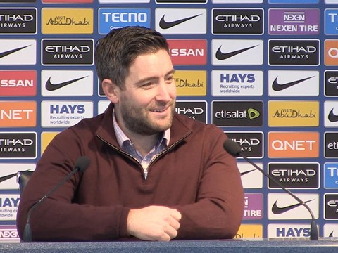 Video: Lee Johnson Post-Manchester City away press conference