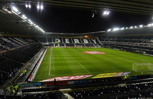 Pay on the night at Pride Park