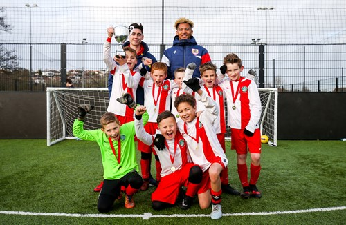 City duo attend EFL Kids Cup