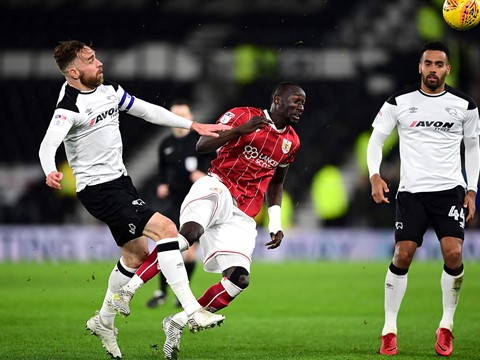 Full 90: Derby County 0-0 Bristol City