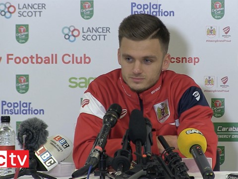 Video: Jamie Paterson Pre-Manchester City press conference