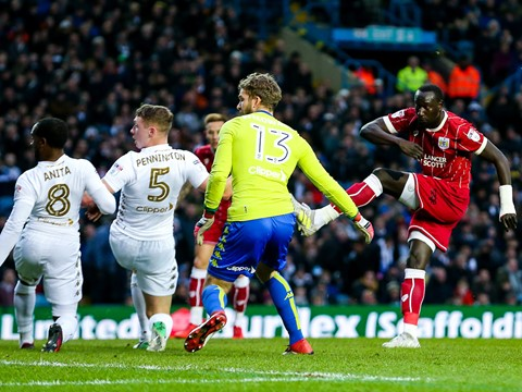 Goals: Leeds United 2-2 Bristol City