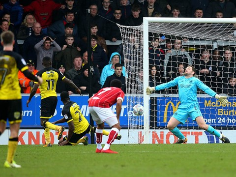 Action: Burton Albion 0-0 Bristol City