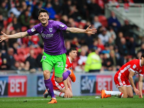 Goals: Middlesbrough 2-1 Bristol City