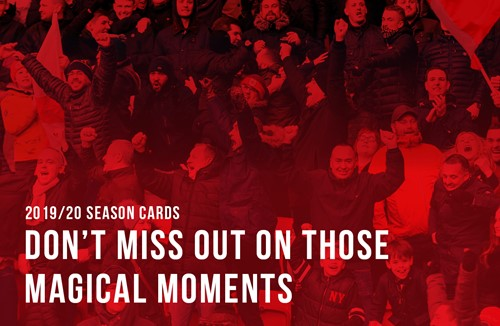 Advanced season card sales end today