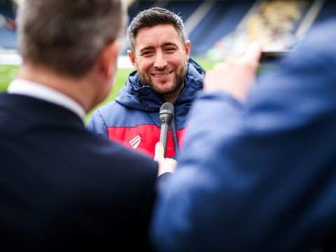 Video: Lee Johnson Pre-Wigan Athletic home
