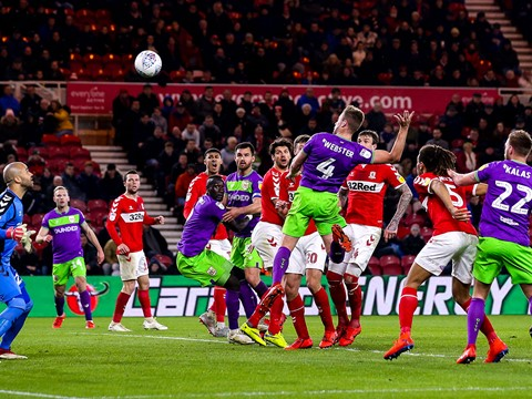 Highlights: Middlesbrough 0-1 Bristol City