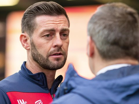 Audio: Jamie McAllister Pre-West Bromwich Albion home press conference