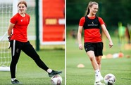Lionesses U21 call-up for Baggaley and Wellings