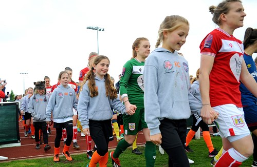 Mascot Packages available for City Women's game at Ashton Gate