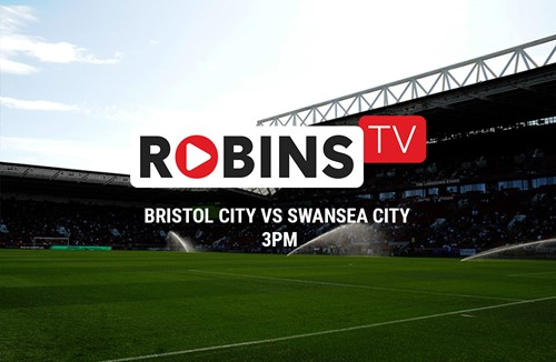 Swansea test available on Robins TV