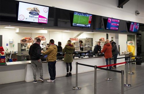 Ashton Gate Stadium introduces cashless concessions