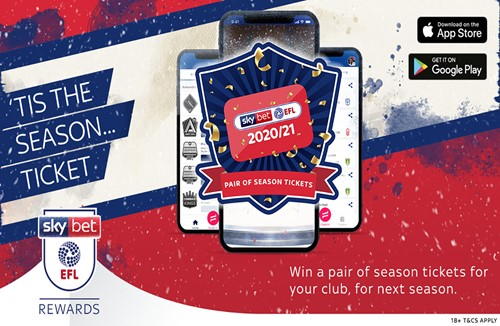 Win a pair of City season tickets this Christmas with Sky Bet EFL Rewards