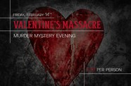 Experience a Murder Mystery evening this Valentines