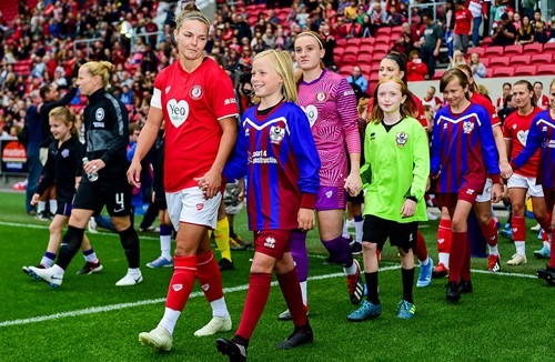 Mascot Packages available for City Women against Everton at Ashton Gate