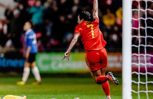 Wynne on target in Wales victory