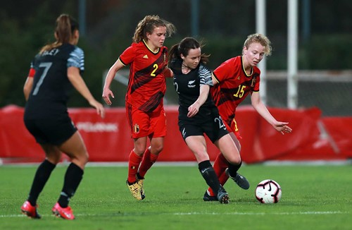 Chance and the Football Ferns finish fourth at the Algarve Tournament