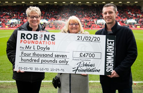 City fan wins big in the Robins Lotto